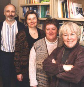 Photo historique du département de travail social