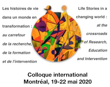 Logo Colloque international sur les histoires de vie